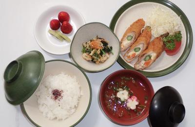 手作りのおいしい給食、季節の行事食